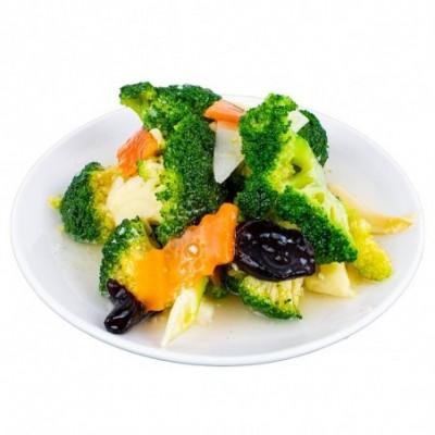 Brocolis sautés aux légumes